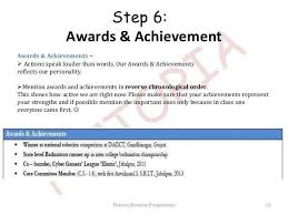 Awards On Resume Delectable Awards To Put On A Resume Talktomartyb