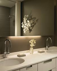 Image Led Strip Homedit How To Pick Modern Bathroom Mirror With Lights