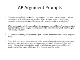 mastering the art of argument through collaboration and  7 ap