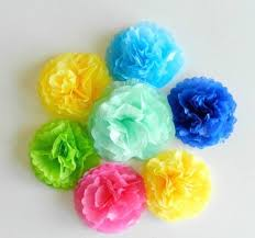Tissue Paper Flower How To Make Simple Spring Tissue Paper Flowers Allfreepapercrafts Com