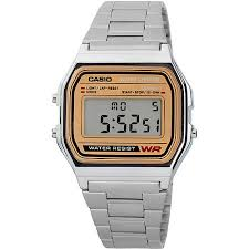 casio men s classic digital watch stainless steel walmart com casio men s classic digital watch stainless steel