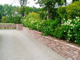 Small Picture brick walls landscaping ideas pictures Brick Retaining Wall