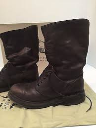 Burberry Prorsum Size Chart Burberry Prorsum Fall 2010 Leather Mid Calf Lace Boots Mens Runway Size 42 Us 9 Ebay