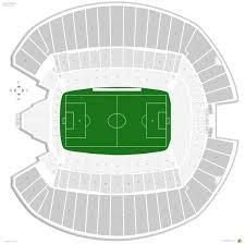 Centurylink Field Seating Chart Row Numbers Centurylink Field Soccer Seating Guide Rateyourseats Com