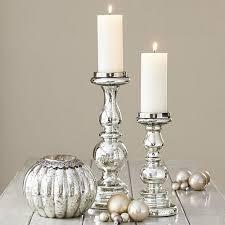 mercury glass candlesticks mercury glass candlesticks lights house