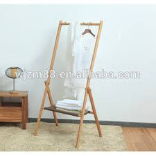 Coat Racks And Stands Extraordinary Bamboo Clothes Hanger Rack StandFreestanding Coat Rack Hat Hanger