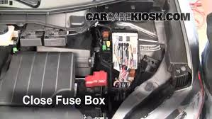 replace a fuse 2011 2016 nissan quest 2011 nissan quest sl 3 5l v6 6 replace cover secure the cover and test component
