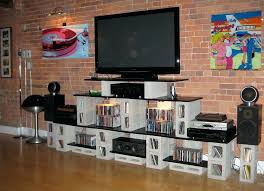 homemade tv stand easy ways to build your own stand diy corner tv stand