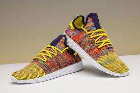 adidas pharrell. pharrell williams x adidas tennis hu footwear news