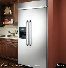 kitchenaid 42 built in refrigerator inch built in side by refrigerator with within counter depth plan