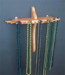 9-Peg, Large Single-Tier Necklace Holder