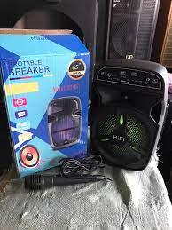 Loa Karaoke Bluetooth Mini BT-06 - Âm Thanh HiFi Cực Hay - Tặng Kèm Micro  Karaoke