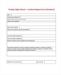 Ent Report Format Letter Lovely Template Form Child Care Behavior