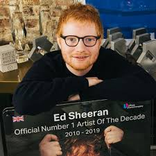 Uk Album Charts 2010 Ed Sheeran Crowned Uks Official Number 1 Artist Of The