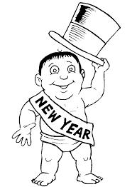 Happy New Year 2018 Vuurwerk Kleurplaat Feuerwerk Bild Zum Ausmalen