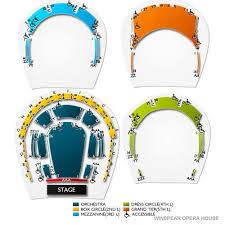 Winspear Opera House Tickets