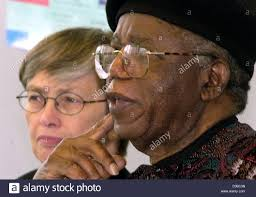 chinua achebe stock photos chinua achebe stock images alamy dpa ian author chinua achebe sits next to carol bellamy secretary general