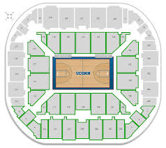 Connecticut Basketball Gampel Pavilion Seating Chart