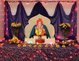 unique ganpati home decoration ideas eco friendly tips 2015