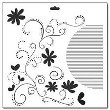 Swirls Templates The Crafters Workshop 12 X 12 Doodling Templates Swirls And Flowers
