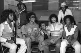 "Switch"" at Freeway Records in Los Angeles, CA(Tommy DeBarge, Eddie  Fluellen, Bobby DeBarge, Jody Sims, Phillip Ingram, Gregory Williams)circa  1979© 1979 Bobby Holland - Image 24331_0224 