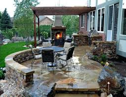 Backyard Concrete Designs Adorable Backyard Concrete Patio Ideas Backyard Brilliant Ideas Of Backyard