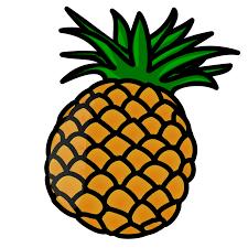 pineapple emoji png. cartoon pineapple clip art png emoji png
