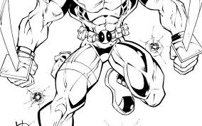 Small Picture Deadpool coloring pages for kids deadpool coloring pages coloring