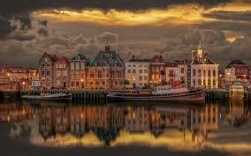 HD wallpaper: Old Port Of Maasslui ...