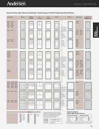 Andersen Window Sizes Chart Andersen 400 Series Awning Window Sizes Windows Skylights