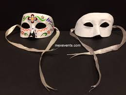 Blank Masks To Decorate Half Mask Decorate your Own 96