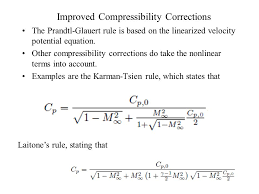 compressibility examples. 15 validity of prandtl glauert rule : naca4412 compressibility examples
