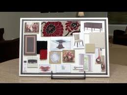 Interior Design Materials Extraordinary How To Make An Interior Design Color Board YouTube