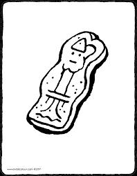 Speculaas Van Sinterklaas Kiddicolour