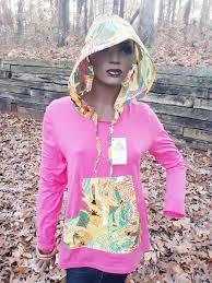 Devita Designs Devita Designs Handmade Womens Hoodie Top Organic Natural Cotton