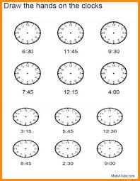 11+ telling time worksheets free | math cover
