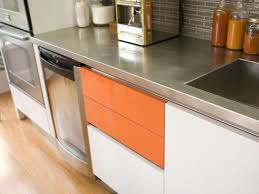 Make Stainless Steel Countertop Stainless Steel Countertops Hgtv