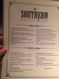 Southern Kitchen The Southern Kitchen Bar Menu Urbanspoon Zomato