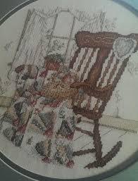 rocking chair quilts com. needlewoman quilter paula vaughan cross stitch pattern rocking chair quilt #leisureartspaulavaughan quilts com