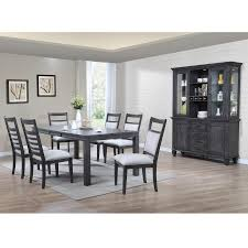 Lane Dining Room Sets East Lane 7 Piece Dining Room Table With 6 Side Chairs