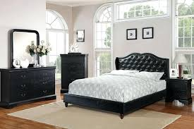 black tufted queen bed 4 ii collection black faux leather tufted upholstered queen bed set dimora queen upholstered bed black black upholstered queen bed