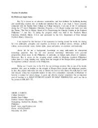 College Recommendation Letter Template From Teacher Reference Sample
