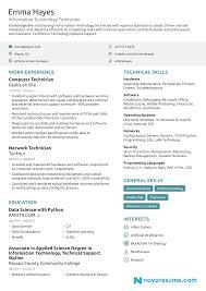 Resume Sample It Resume For Fresh Graduate Objectives Tech