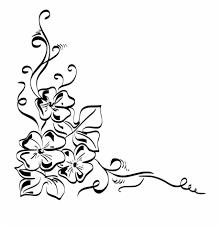Floral Sketch Designs Download Png Drawings Of Floral Designs Transparent Png