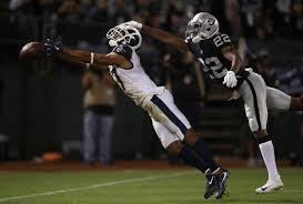 Robert Woods, Rashaan Melvin - Rashaan Melvin Photos - Los Angeles Rams v  Oakland Raiders - Zimbio