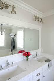 Bathroom Framed Mirrors 17 Best Ideas About Framed Bathroom Mirrors On Pinterest Diy
