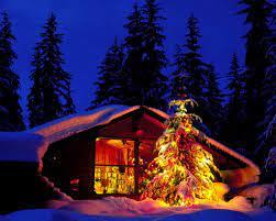 1280x1024 Christmas Night desktop PC ...