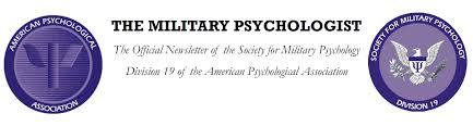 Feature Article The Society For Military Psychology