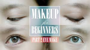 how to apply eyeliner eyeshadow maa for beginners makeup for beginners part 2 you