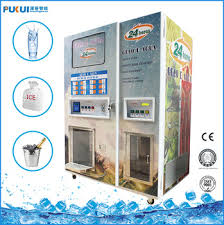 Bulk Water Vending Machines Awesome Automatic Ice And Water Vending Machine With Bagging System For Sale